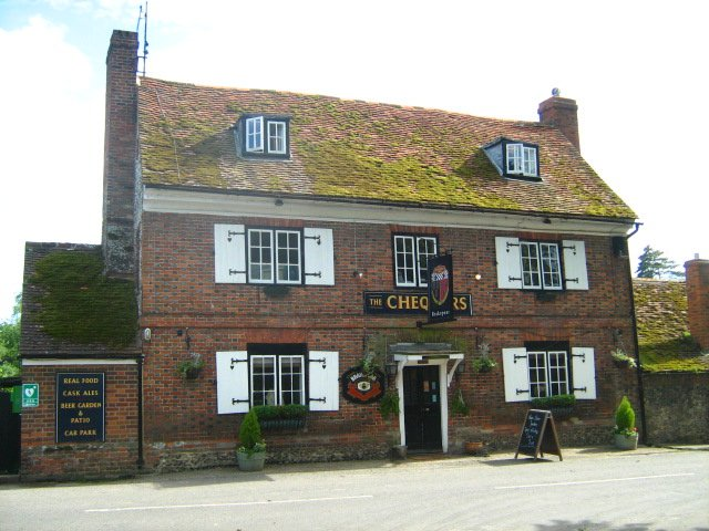 The 17th century The Chequers, in Fingest