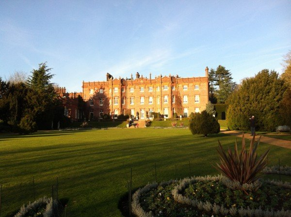 Hughenden Manor earlier today