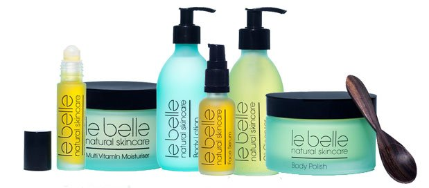 The full Le Belle product range