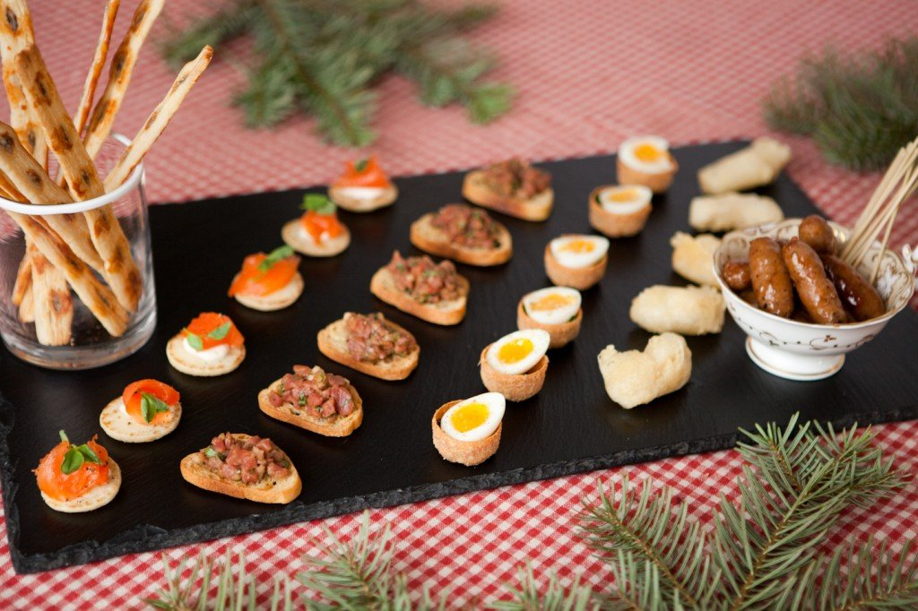 Christmas canap s by chef paul collins bucks oxon for Christmas canape