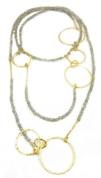 azuni long necklace