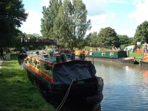 Berkhamsted's pretty Grand Union canal