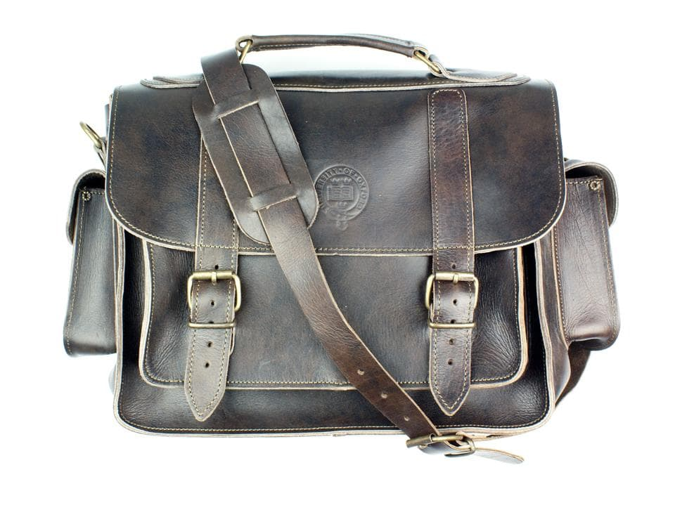 oxford university satchel