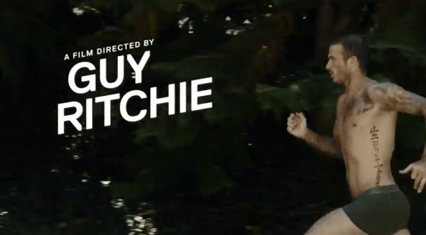david-beckham vid - guy ritchie