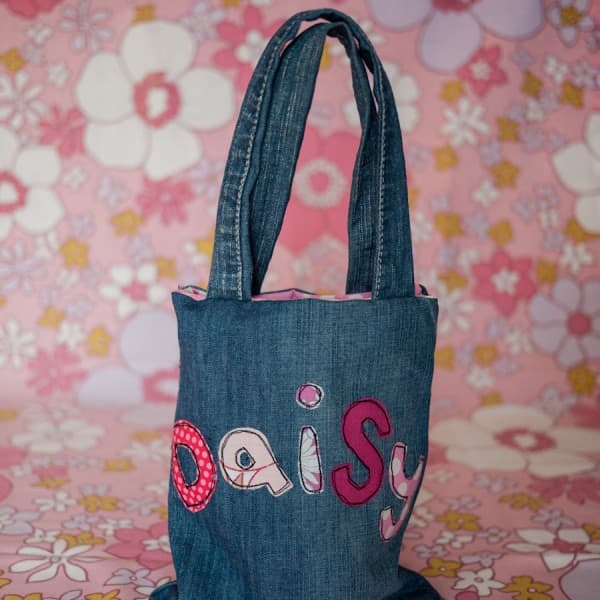 little binks - personalised bag