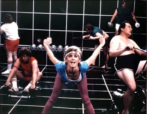 olivia newton john, physical