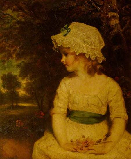 reynolds pic of Miss Theophila Gwatkin (1782 - 1844) as Simplicity
