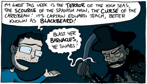 comic, Corpse-Talking-to-Blackbeard