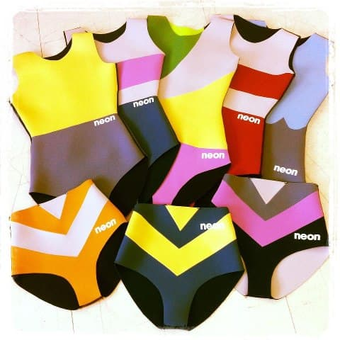 neon wetsuits