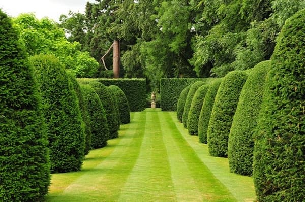 The stunning formal gardens of Broughton Grange