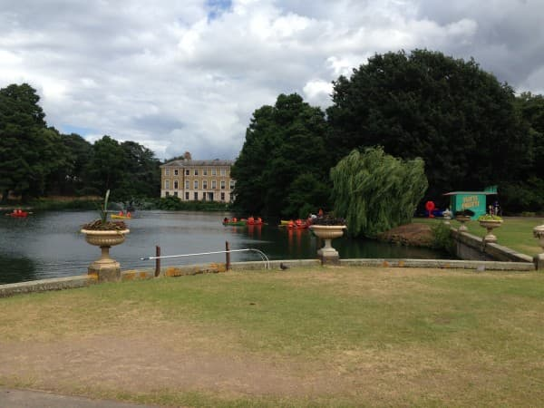 The Tutti Frutti boating lake