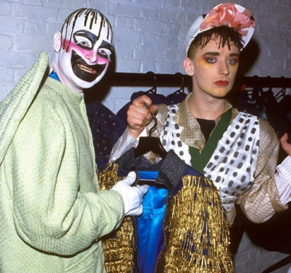 boy george and lee bowery