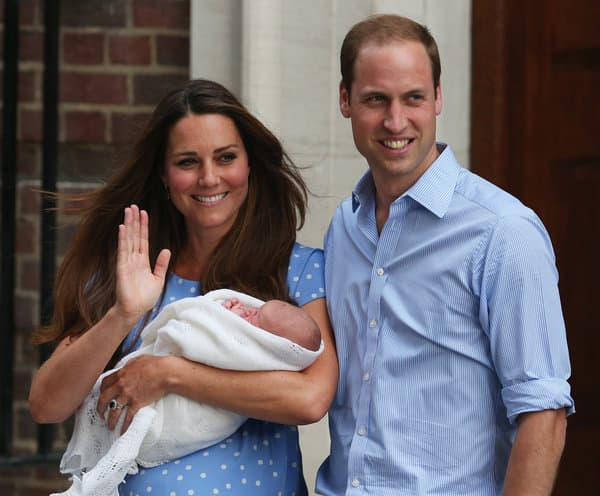 kate and william and baby