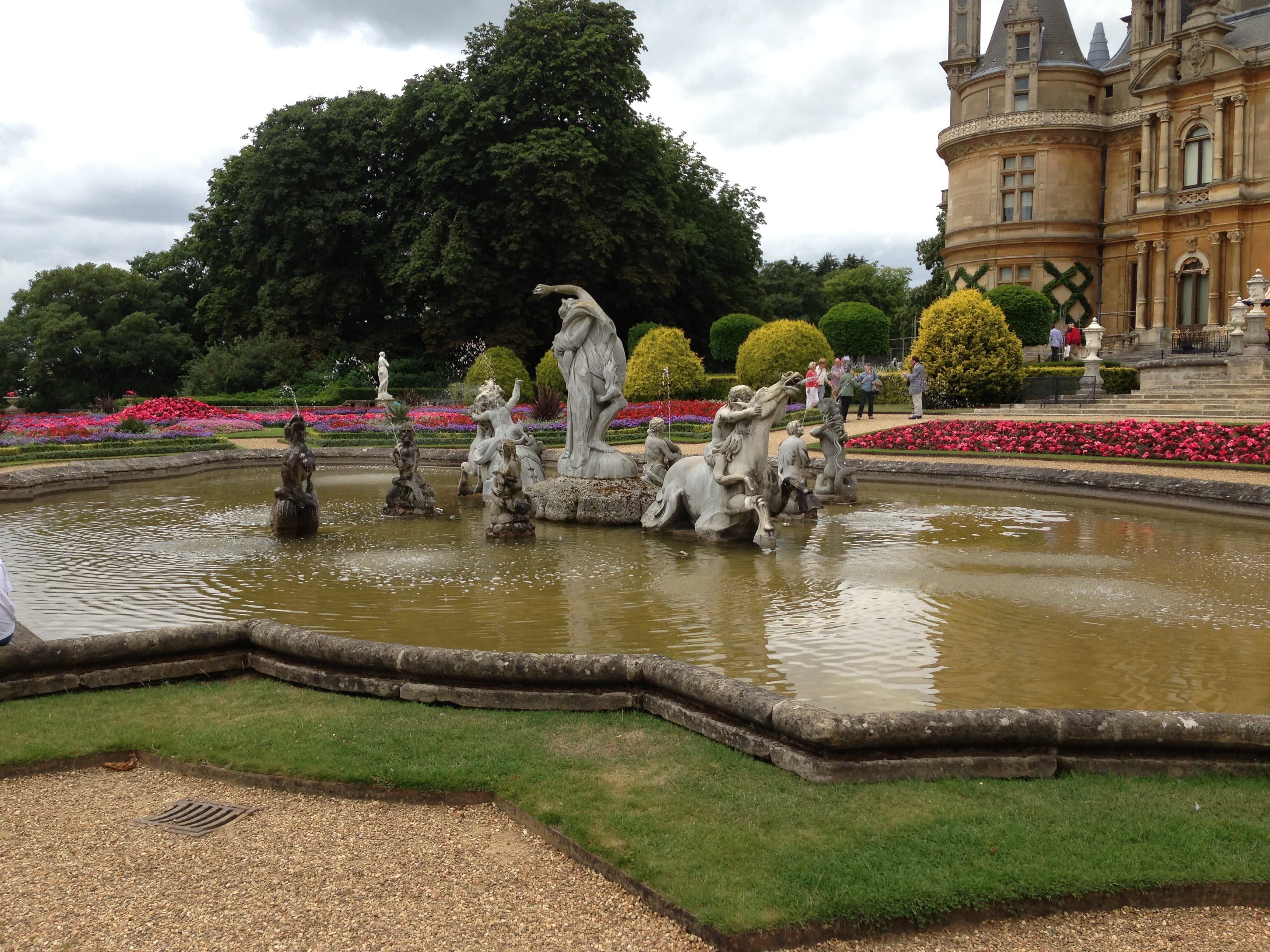 Waddesdon with kids August 2013 008