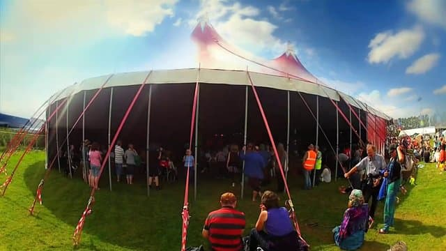 towersey festival tent