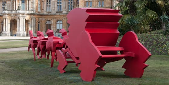 waddesdon manor, le carrosse