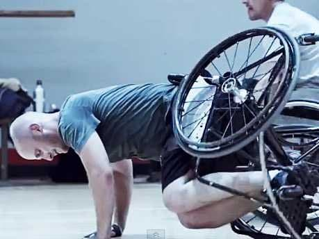 wheelchair-pushup