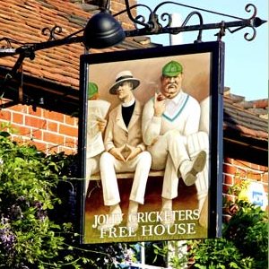 The jolly cricketers