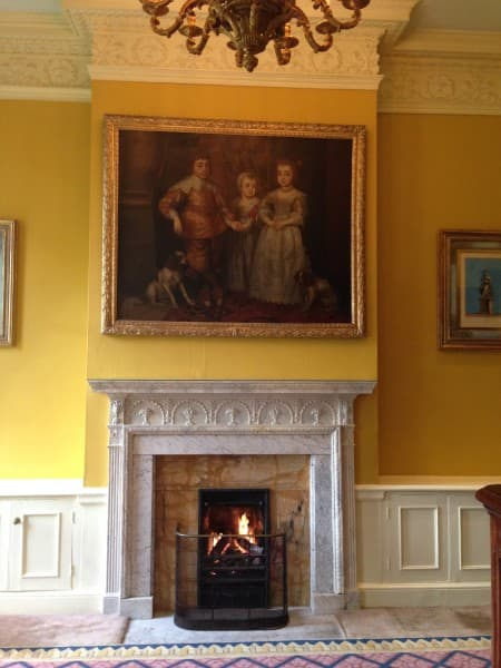 One of two Van Dyke paintings of Charles I children - catch this one, the other one's in Buckingham Palace!